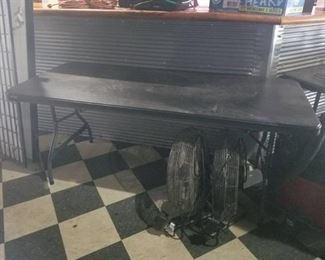 6 Ft Black Lifetime Folding Tables