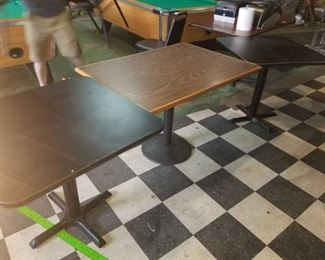 3 Restaurant Tables