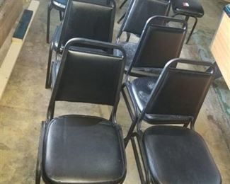 8 Stackable Chairs