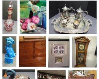FB Auction collage
