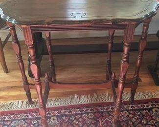 antique entryway table