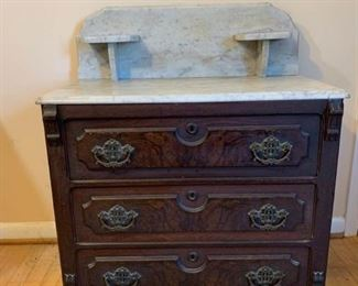 Marble Top Washstand https://ctbids.com/#!/description/share/194319