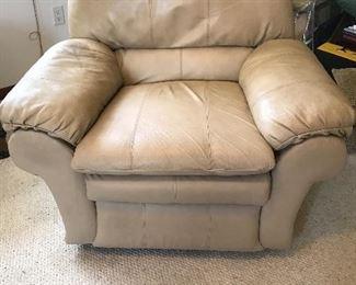 Oversized rocker recliner