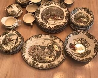 Johnson Bros Friendly Village set, will change photo if I uncover more pieces- excellent condition