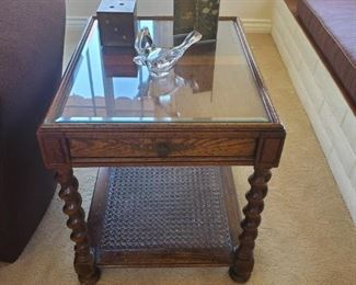 Wood End Tables ... Decorative Items