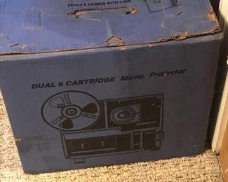 Dual 8 movie projector