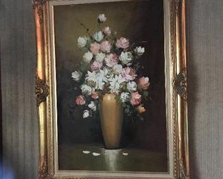 Original artwork in beautiful frame