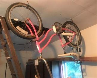 Pink girls Schwinn bike