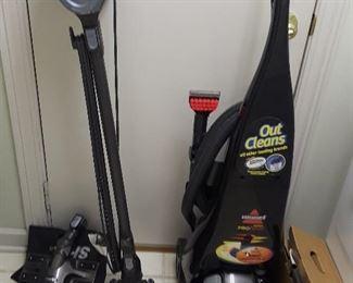 Shark Rocket Vacuum and Bissell Carpet Cleaner