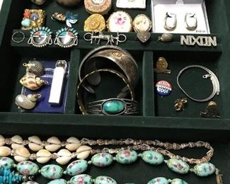 Great selection of fine and costume jewelry.