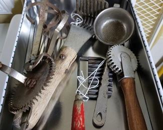 Old kitchen items