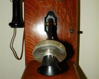 Antique wall phone