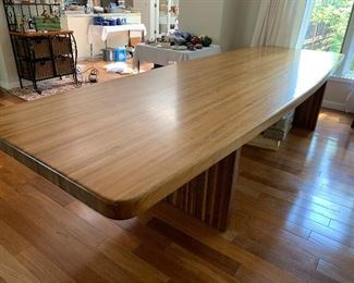 Amazing 12 foot dining room table! Absolutely stunning!