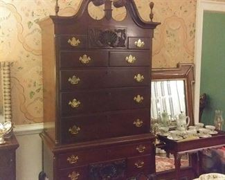 Beautiful Craftique Highboy