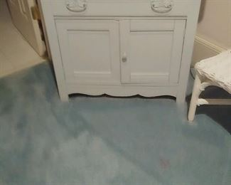 painted bedroom wash stand