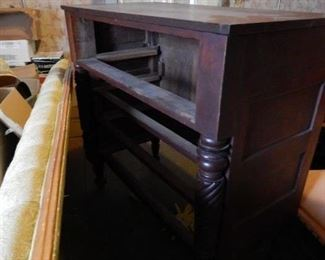 Nice Empire tall dresser. Not shown in picture are drawers, which are also in good shape.