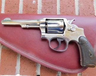 Smith & Wesson 32 Long  Revolver(Permit or Concealed and Carry Required for Purchase)