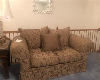 Love Seat $125.00... There is a  chair that goes with this it is $75.00