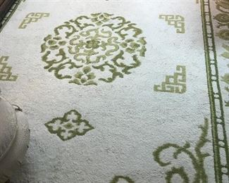 """Hand made oriental style rug (11'7"""" x 8'8"""")"""
