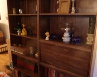 Shelving Cabinetry + Collectables