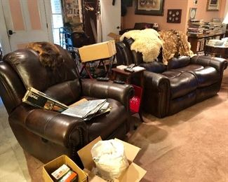 Recliner sold.  Loveseat available.