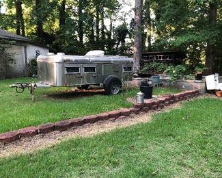 Sold dog trailer