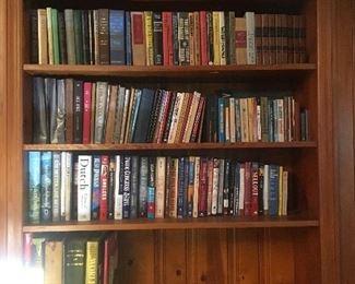 Books, books, books and more books