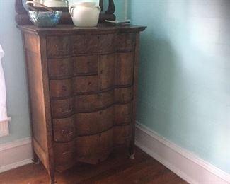 Oak 6-drawer Chest