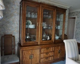 china cabinet, items inside not for sale