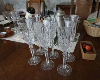 Waterford set of 6 flutes