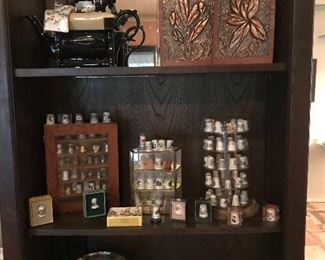 Extensive thimble collection