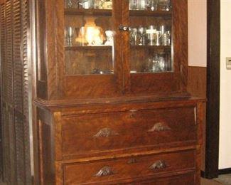 Circa 1870's Cupboard 7 Ft. Tall