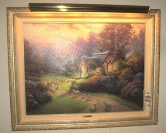 Thomas Kinkade Oil on Canvas