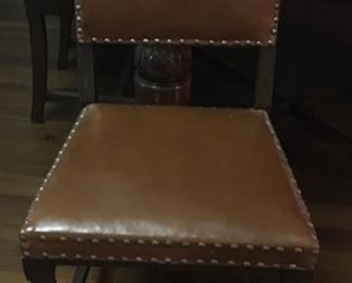 One of 6 Pub Table Chairs