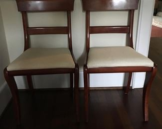 2 of 6 Side Chairs