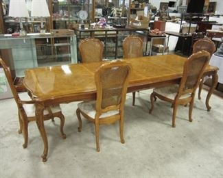 1980 THOMASVILLE DINING SET