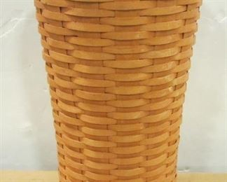 Longaberger waste basket