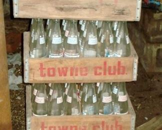 Vintage Towne Club Soda