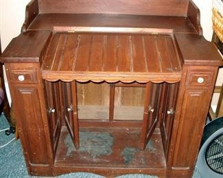 Unusual Antique Ships Desk