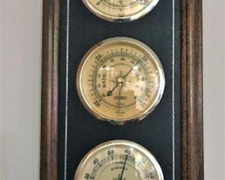 Framed weather station