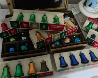 Shiny Bright Christmas ornaments