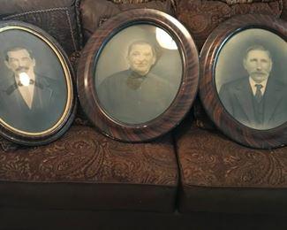 Antique framed ancestors