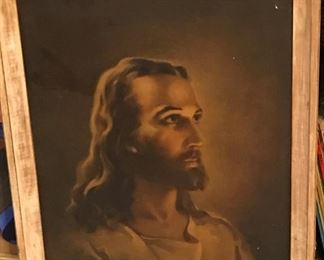Framed representation of Jesus