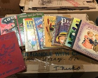 Vintage Little Golden books and more