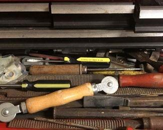 Tools in tool box