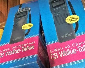 5 Watt 40 channel CB Walkie Talkies