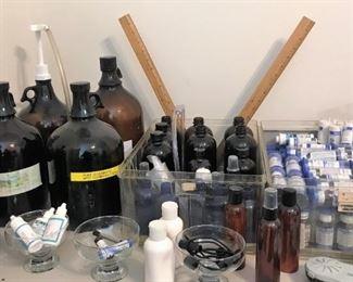 Larger bottles of essential ingredients, more
