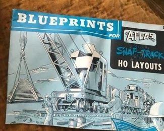 Atlas trains HO blueprints for layouts