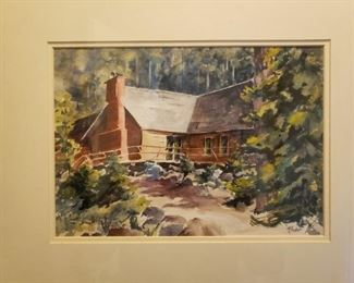Original Watercolor by Foster