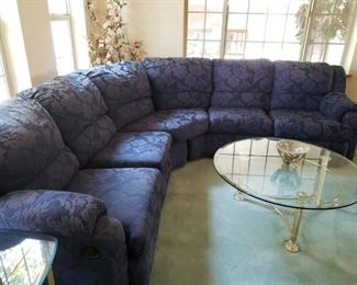 Fabulous Grape Colored Sofa...yummy!